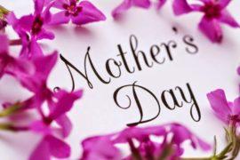 Χρόνια Πολλά σε όλες τις μητέρες του κόσμου.